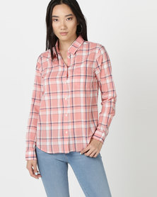 Hi-Tec Wanderer Light W Shirt Pink