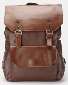 Blackchilli Trendy Backpack Coffee