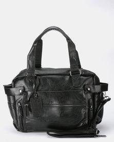 Blackchilli Faux Leather Bag Black