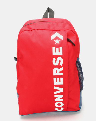 Converse Speed 2 Backpack Red