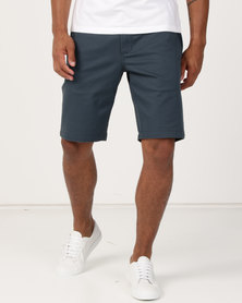 RVCA Weekend Stretch Shorts Charcoal
