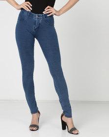 Sissy Boy 4Way Sculpt Denim Skinny Jeans Medium Wash