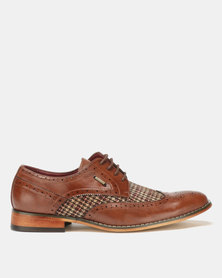 Anton Fabi Theo Formal Lace Ups Brown