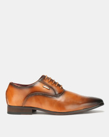 Anton Fabi Zenon Formal Lace Ups Tan