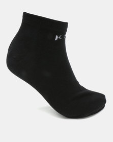 K7 STAR Ankle Socks Black
