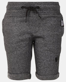 Soviet B Johnson Track Shorts Grey