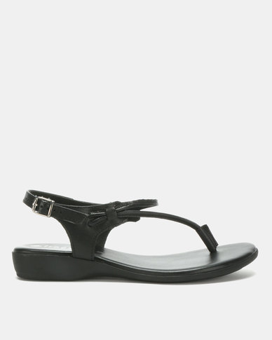 b32165587 Froggie Ella Sandals Black