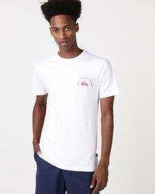 Quiksilver Hollow Times T-Shirt White