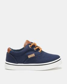 Soviet Boston Canvas Sneakers Navy
