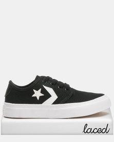 Converse Zakim Cons Canvas Ox B Sneakers Blackl
