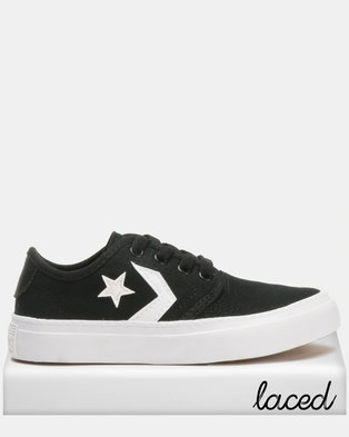 Converse Zakim Cons Canvas Ox B Sneakers Blackl 03249b511