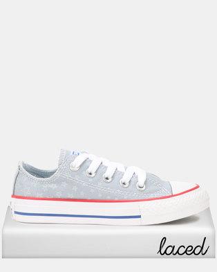 Converse Ctas Americana TD B Ox Sneakers Grey 51a795b6d4