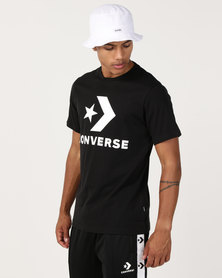 Converse Star Chevron Tee Black