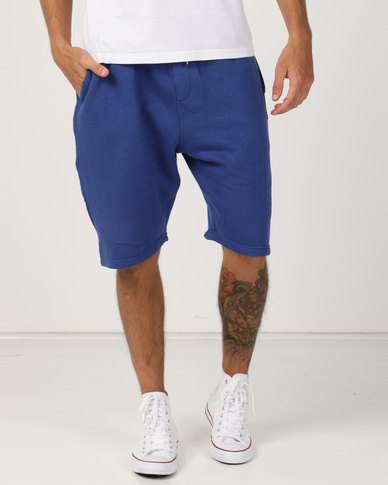 Soviet Rafa Track Shorts Dark Royal