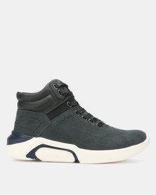 Jordan Tyco Lace Up Hi-Top Sneakers Blue