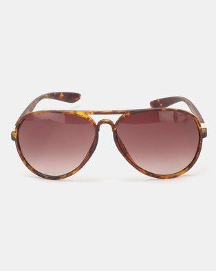 1c63e29f690 UNKNOWN EYEWEAR Magnum Sunglasses Tortoise Brown