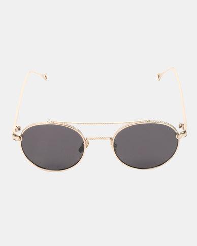 UNKNOWN EYEWEAR Rider Sunglasses Gold