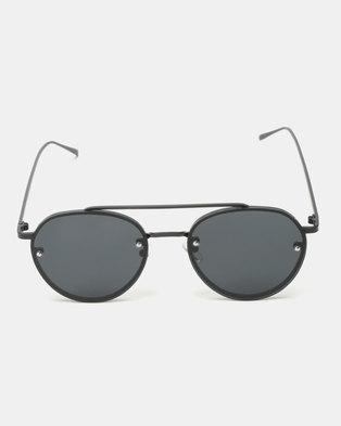 d3ddaeba52 UNKNOWN EYEWEAR Miller Sunglasses Black