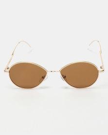 UNKNOWN EYEWEAR Frona Sunglasses Gold