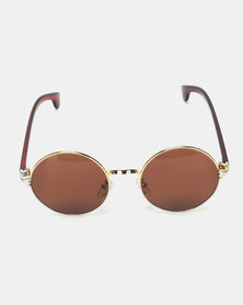 UNKNOWN EYEWEAR Assassin Sunglasses Gold-Toned