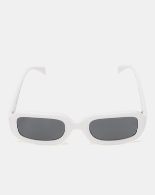UNKNOWN EYEWEAR Rubicon Sunglasses White