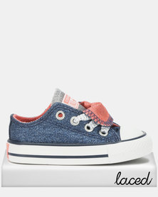 Converse Ctas Double Tongue Ox I Sneakers Blue
