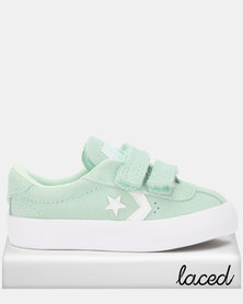Converse Breakpoint 2V Suede Fox Sneakers Green