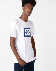 DC Square Star T-Shirt White