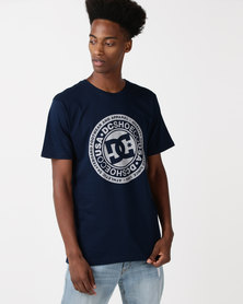 DC Circle Star T-Shirt Blue