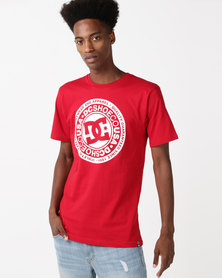 DC Circle Star T-Shirt Red