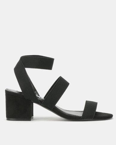 Sandals Black Madden Steve Low Heel Isolate QhxtBsrdC