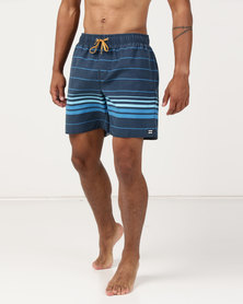 Billabong Spinner Layback Shorts Blue