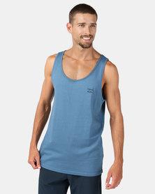 Billabong Essential Singlet Vest Blue
