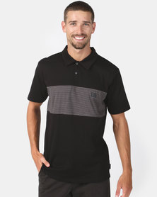 Billabong Die Cut Polo Black