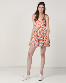 Billabong Cabo Firefly Playsuit Multi