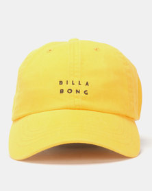 Billabong Die Cut Lad Cap Yellow