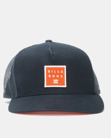 cd912813af0 Billabong Stacked Snapback Navy