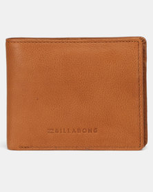 Billabong Rockaway 2 In 1 Wallet Tan