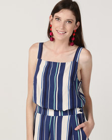 Good Clothing Square Cami Stripe Multi