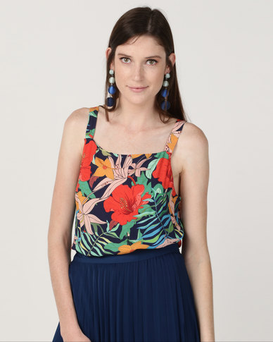 Good Clothing Square Cami Tropical Multi