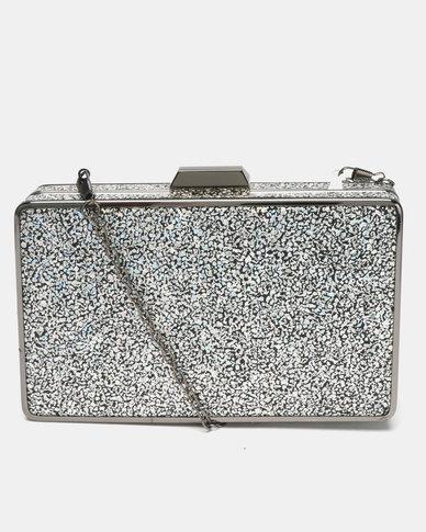 Blackcherry Bag Sparkle Clutch Black  d2e9305aa5
