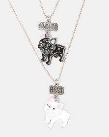 Cool Kids Bulldog BFF Pendant Chain