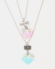 Cool Kids Icing Heart BFF Pendant Chain