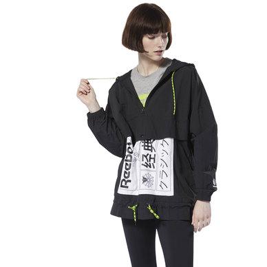 Graphic Anorak Jacket