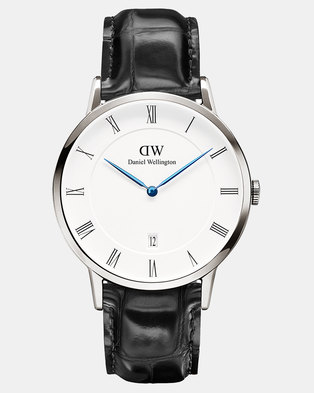 Daniel Wellington Men Dapper Reading 38mm Watch DW00100108 Silver-plated