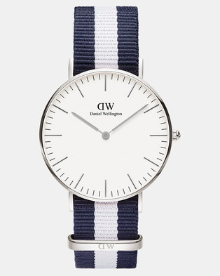 0fff4c53c595 Daniel Wellington Women Classic Glasgow 36mm Watch Silver