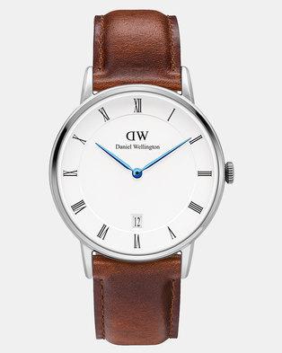 Daniel Wellington Women Dapper St Mawes 34mm Watch DW00100095 Silver-plated