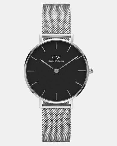 df168e58bc9 Daniel Wellington Women Classic Petite Sterling 32mm Watch DW00100162  Silver-plated