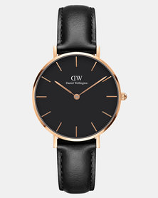 Daniel Wellington Women Classic Petite Sheffield 32mm Watch DW00100168 Rose Gold-plated