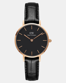 Daniel Wellington Women Classic Petite Reading 28mm Watch DW00100223 Rose Gold-plated